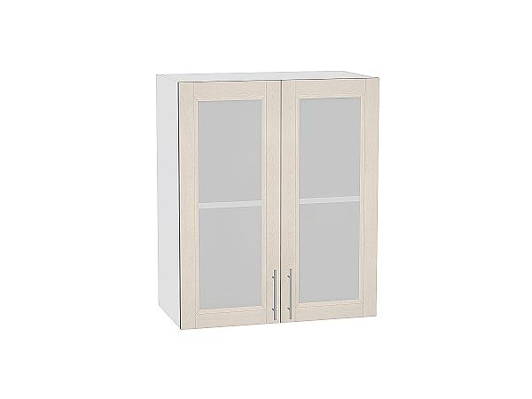 Шкаф верхний Сканди В609 со стеклом Cappuccino Softwood