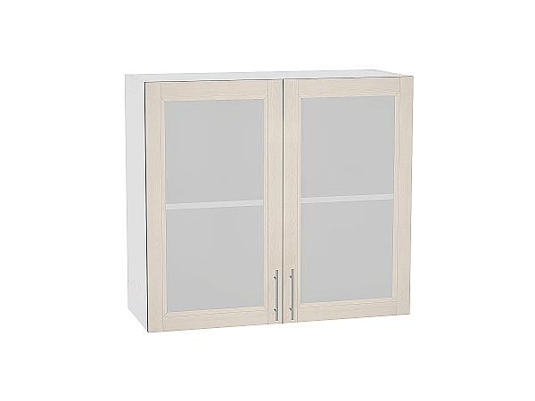 Шкаф верхний Сканди В800 со стеклом Cappuccino Softwood