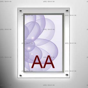 Кристалайт односторонний настенный формат AA 1000х1500 мм