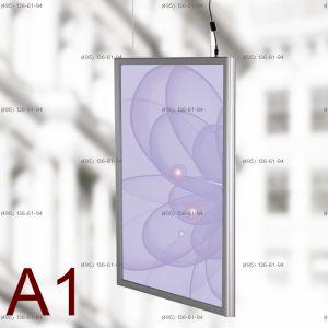 Световая панель Frame LED Framelight Classic (фреймлайт), двусторонняя, формат A1, 594х841 мм
