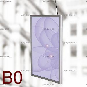 Световая панель Frame LED Framelight Classic (фреймлайт), двусторонняя, формат B0, 1000х1400 мм
