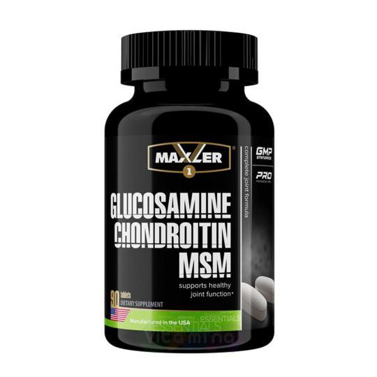 Maxler Glucosamine-Chondroitin-MSM, 90 табл