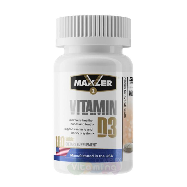Maxler Vitamin D3, 180 табл