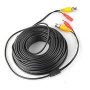 Готовый кабель для камер видеонаблюдения 20м