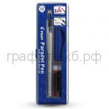 Ручка перьевая Pilot Parallel Pen 6.0 мм для каллиграфического письма FP3-60-SS