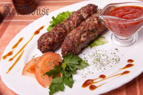 Люля-кебаб из баранины и говядины