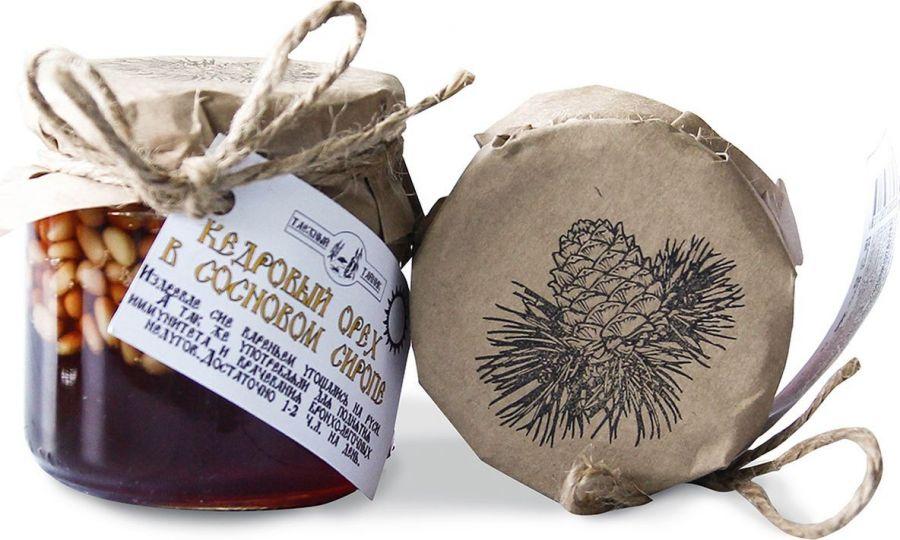 Кедровый орех в сосновом сиропе Таёжный тайник 240г