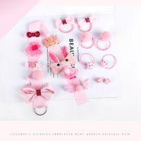 Заколки для волос HAPPY EVERY DAY (цвет светло-розовый)_3