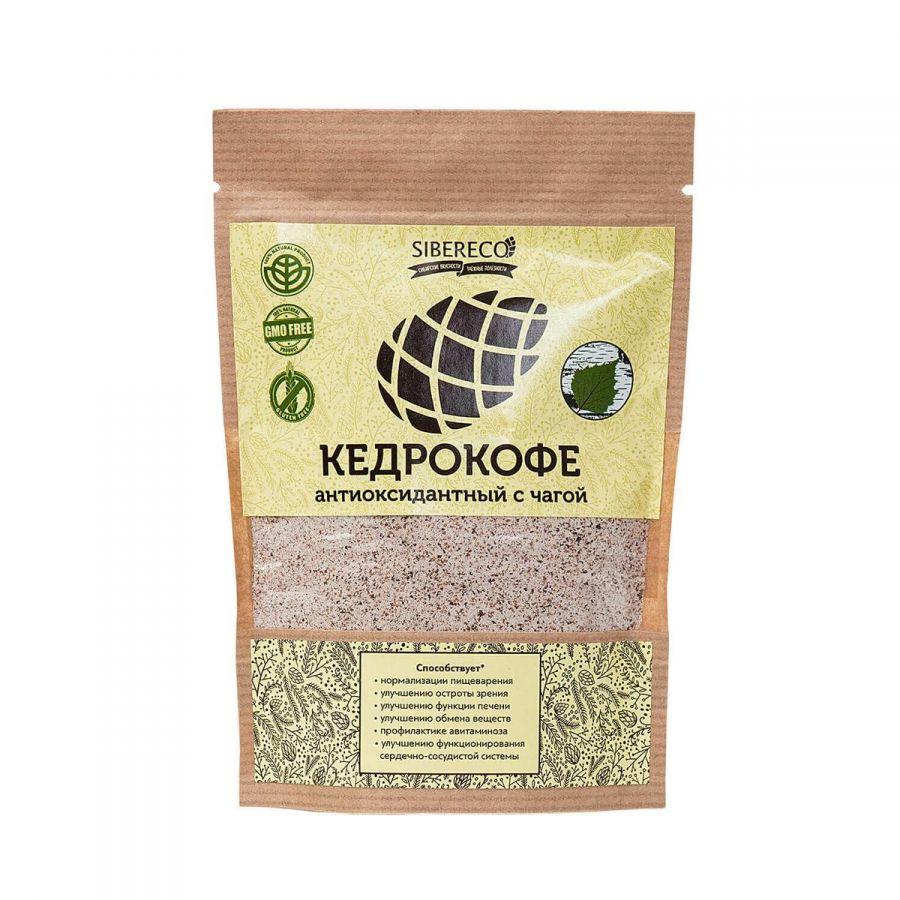 Кедрокофе Антиоксидантный с чагой 90г