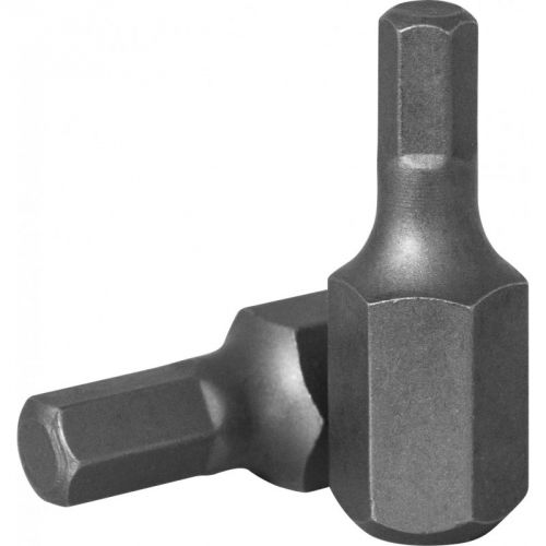 D130H120 Бита 10 мм, шестигранная 12 мм, 30 мм, S2 материал