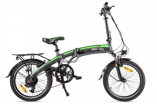 Велогибрид Eltreco LETO Серый