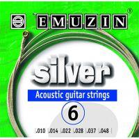 EMUZIN 6А203 (10-48) Струны для акустической гитары
