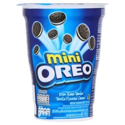 Печенье Орео мини с ванильным кремом 67 гр