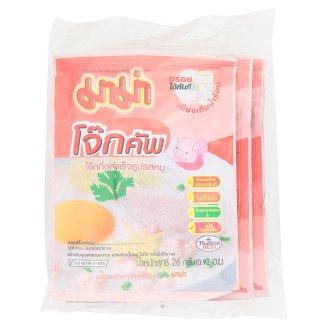Рисовый суп Кхао Том со свининой MAMA в пакетах 3 шт по 26 гр