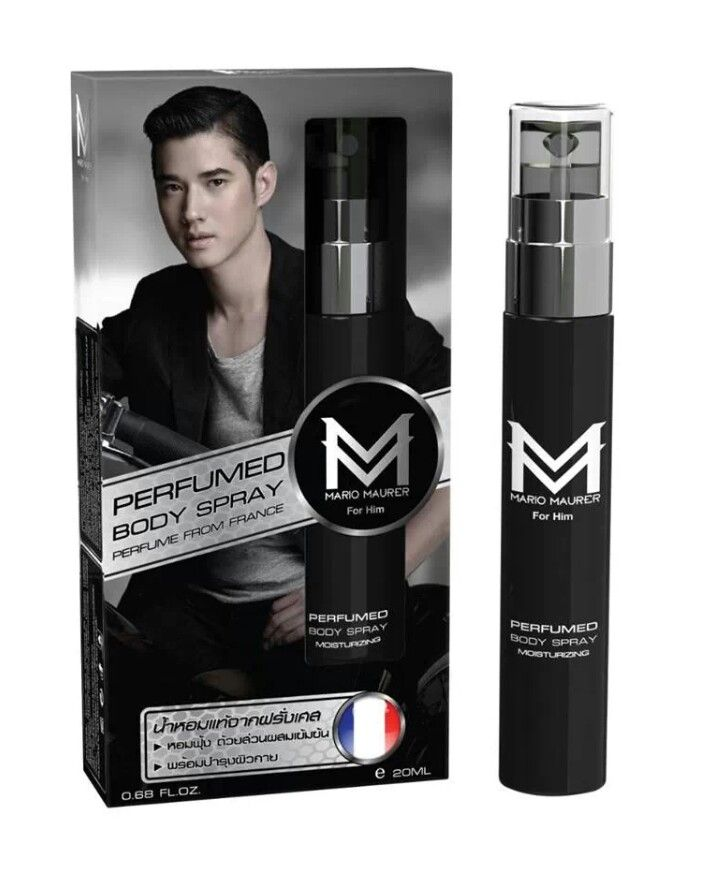 Мужской парфюм Mario Maurer 20 мл