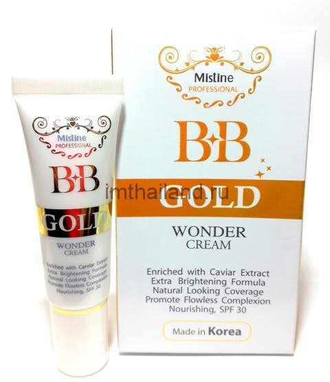 Тайский крем для лица Mistine BB Wonder Cream 15 гр
