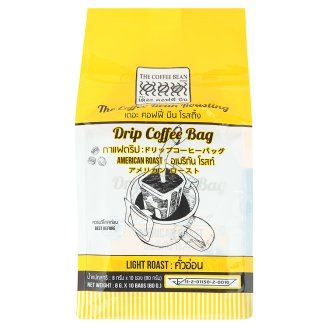 Кофе молотый Американо в фильтр-пакетах The Coffee Bean 10 шт по 8 гр