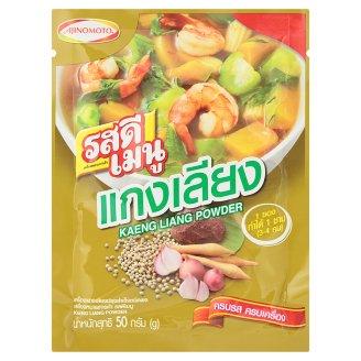Тайская приправа для овощного супа Ros Dee Menu Kaeng Liang Powder 50 гр