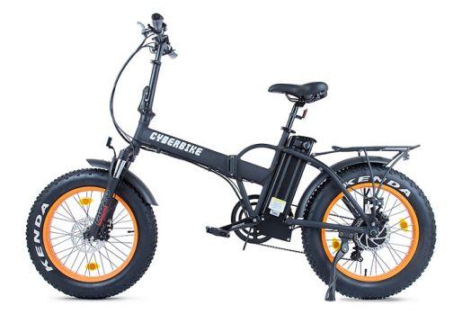 Велогибрид Cyberbike 500 Вт Черный с оранжевым