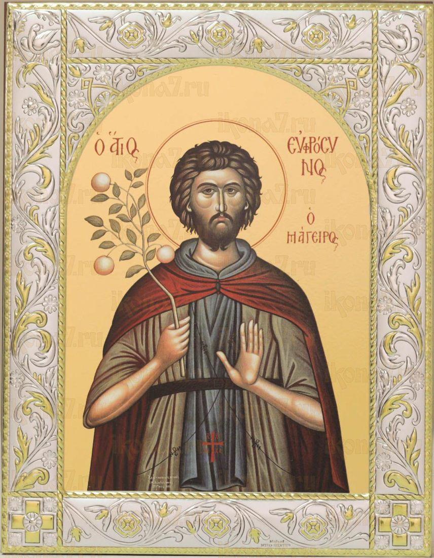 Икона Евфросин Палестинский преподобный (14х18см)