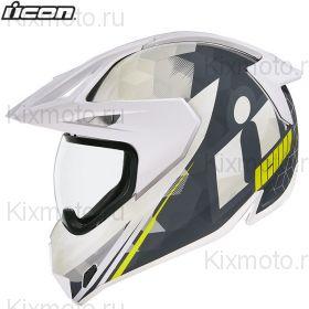 Шлем Icon Variant Pro Ascension, Белый