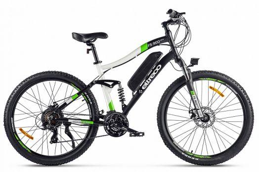 Велогибрид Eltreco FS900 new Серо зеленый