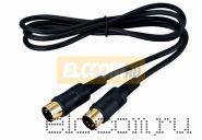 Шнур DIN 5PIN Plug - DIN 5PIN Plug 1.5М (GOLD) REXANT