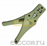 Кримпер для обжима телефонный, пластиковый 6P-6C / 4P-4C, (HT-376D) (TL-376D) REXANT