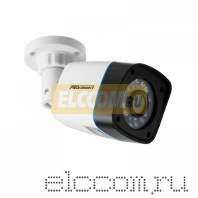 Цилиндрическая уличная камера AHD 1. 0Мп (720P), объектив 3. 6 мм. , ИК до 20 м. (пластиковый корпус) PROconnect