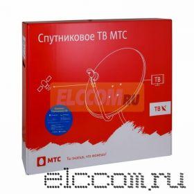 Установочный комплект Спутникового ТВ от МТС, антенна 0,9 м., конвертер, (модель №68)