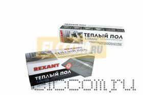 Тёплый пол (нагревательный мат) REXANT Classic RNX-11, 0-1650 (площадь 11, 0 м2 (0, 5 х 22, 0 м)), 1650 Вт, двухжильный с экраном
