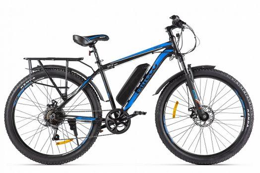 Велогибрид Eltreco XT 800 new Черно синий
