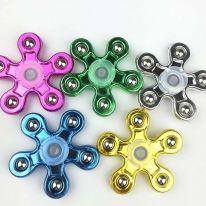 Набор разноцветных спиннеров Пять Лучиков, 6 шт
