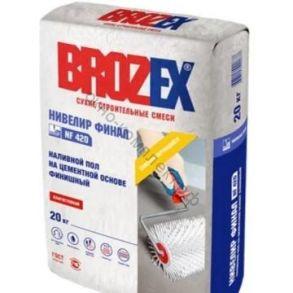 Пол наливной Brozex NF-420 Нивелир ФИНАЛ самонивелирующийся 20 кг