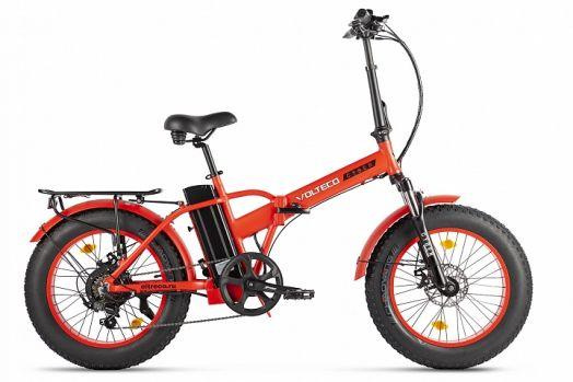 Велогибрид VOLTECO CYBER Красный