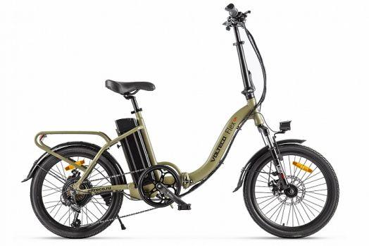 Велогибрид VOLTECO FLEX Хаки