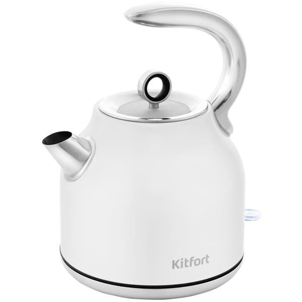 Чайник KitFort КТ-675-1 белый