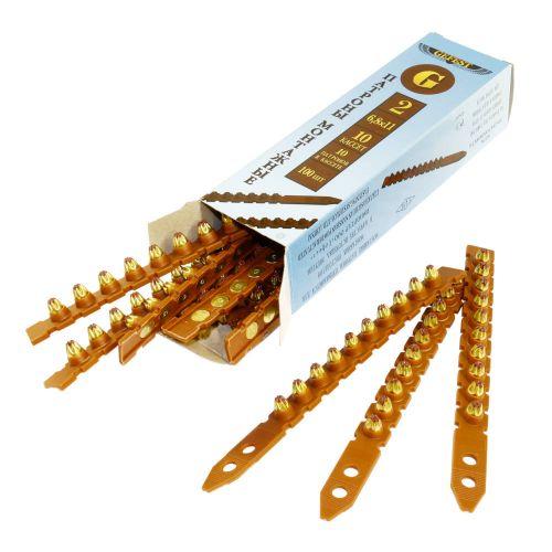 Патрон монтажный для строительных пистолетов тип К2 калибр 6,8х11 в кассете коричневый, упак. 100 шт