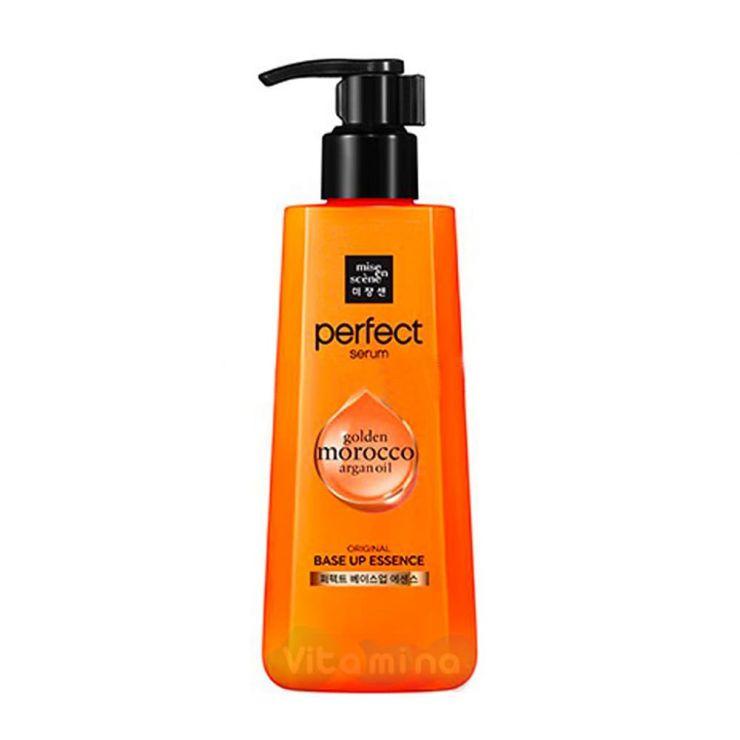 Mise En Scene Восстанавливающая эссенция для волос Perfect Base Up Essence Golden Marocco Argan Oil, 200 мл