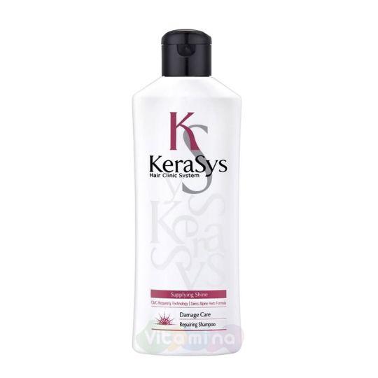 KeraSys Восстанавливающий шампунь для поврежденных волос, 180 мл