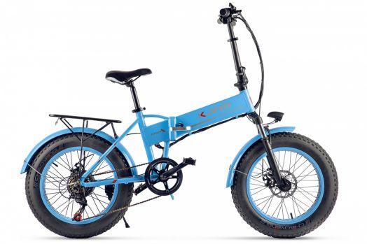 Велогибрид Kjing Fat Черный