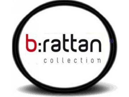 Садовая мебель из штампованного пластика с имитацией ротанга B:rattan (Италия)