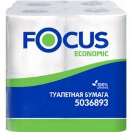 Туалетная бумага Focus  2 слойная, упак ( 8 шт )