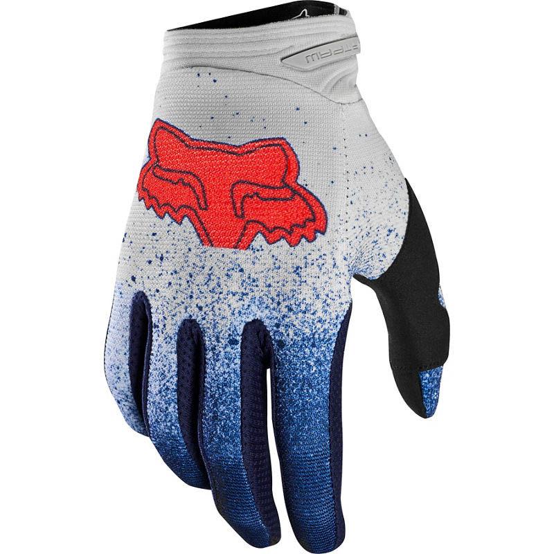 Fox Dirtpaw BNKZ Special Edition Grey перчатки для мотокросса, серые
