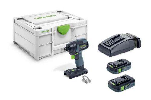 Импульсный шуруповерт TID 18 HPC 4,0 I-Plus Festool