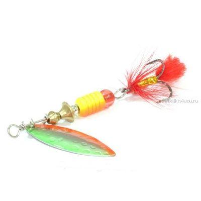 Блесна вращающаяся Sprut Oruto Spinner #4 / 12 гр / цвет: SOB
