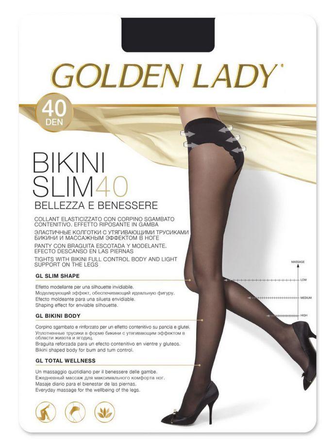 колготки GOLDEN LADY Bikini Slim 40