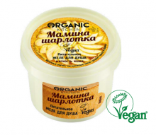 """""""Organic shop"""" Organic Kitchen Желе (гель) для душа """"Питательное. Мамина шарлотка"""", 100 мл"""