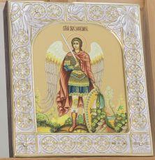 Икона Михаил архангел (9х10,5см)