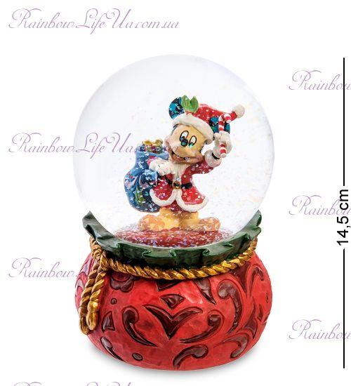 """Шар стеклянный Микки Маус новогоднее настроение """"Disney"""""""